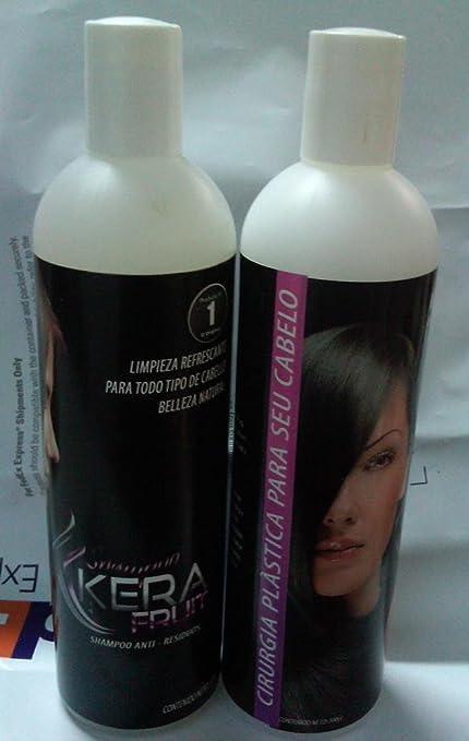 Cirugía Capilar Profesional KERAFRUIT 500 ML (Shampoo-Straightening)