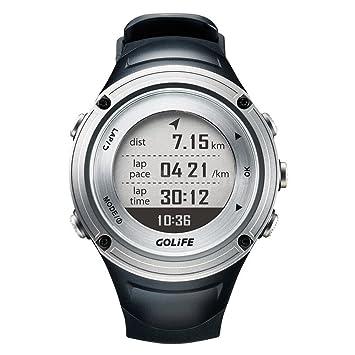 Golife Running GPS reloj impermeable Adventurer Reloj Inteligente Deporte al aire libre para hombres triatlón natación escalada senderismo ciclismo GoWatch ...