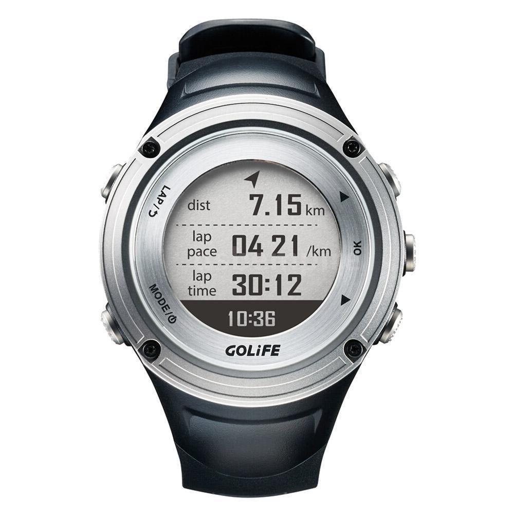GOLiFE Running GPS Watch Waterproof Adventurer Outdoor Smart Sport Watch for Men Triathlon Swimming Climbing Hiking Cycling GoWatch X-PRO