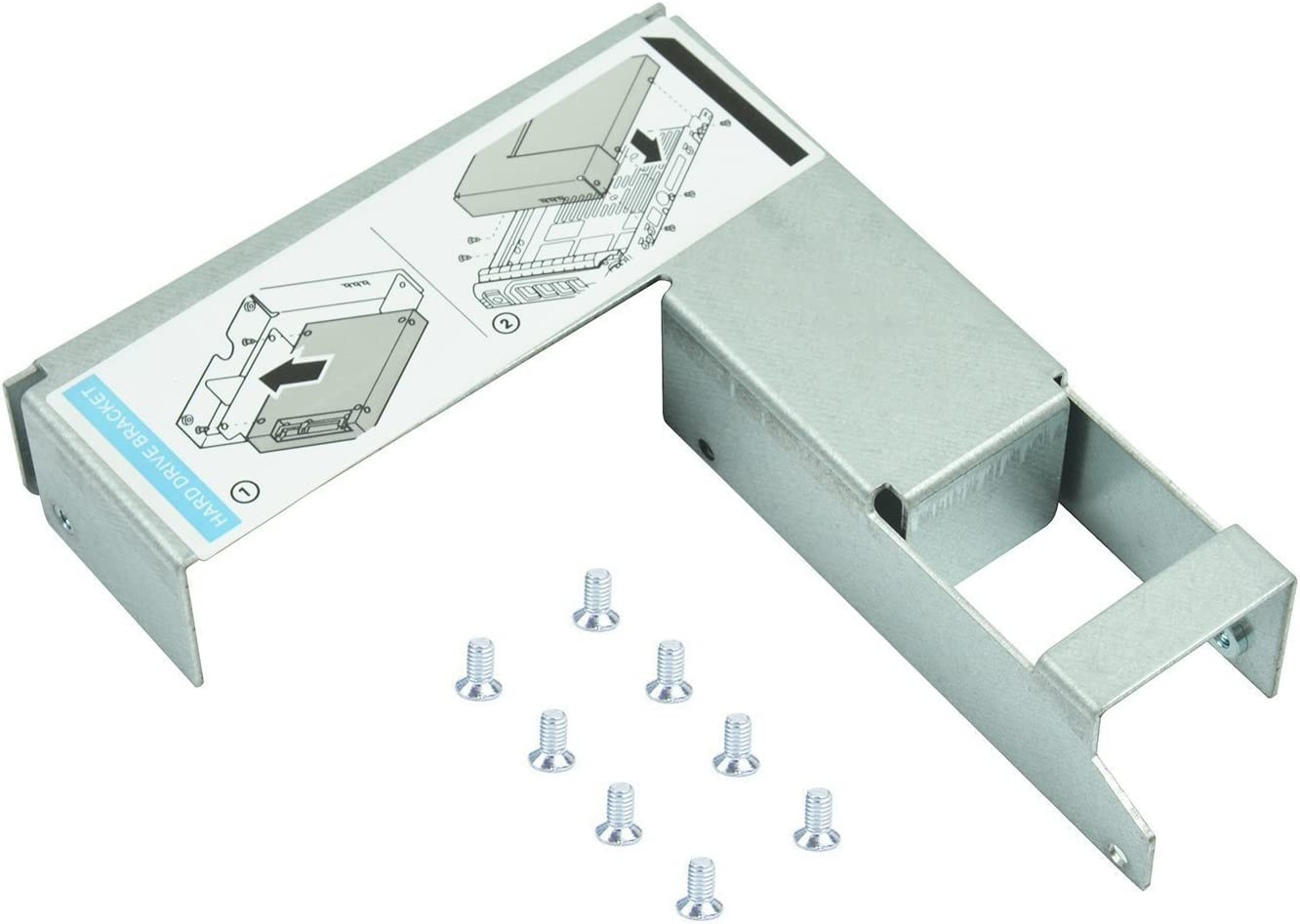 """3.5/"""" to 2.5/"""" SAS//SATA Hard Drive Caddy Tray Adapter For Dell 9W8C4 Y004G F238F"""