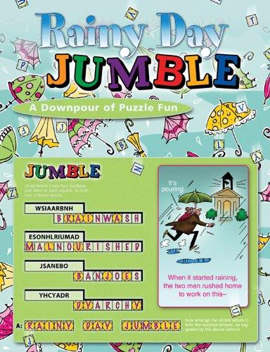 (Rainy Day Jumble®: A Downpour of Puzzle Fun (Jumbles®) )