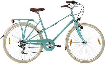 KS Cycling Mujer – Bicicleta para Mujer Marsella RH 48 cm de ...