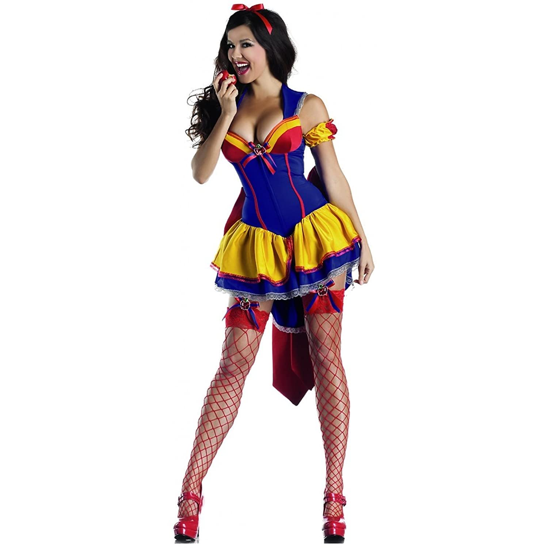 Amazon.com: Poison Apple Body Shaper Snow White Adult Costume ...