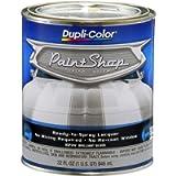 Dupli-Color (BSP202-2 PK 'Paint Shop' Brilliant Silver (Metallic) Finish System Base Coat - 1 Quart, (Case of 2)