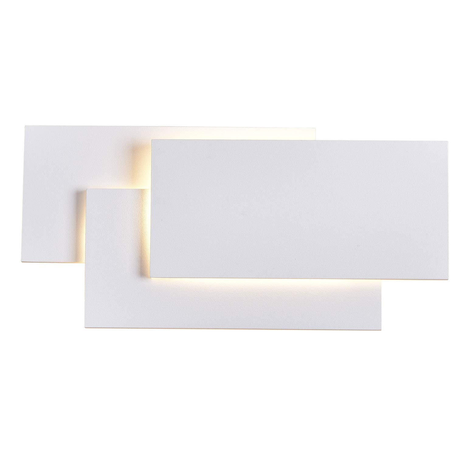 SOLFART LED up Down Wall Lights Indoor Wall Sconce Lamps Bedroom Living Room Decorate (White 3000k)