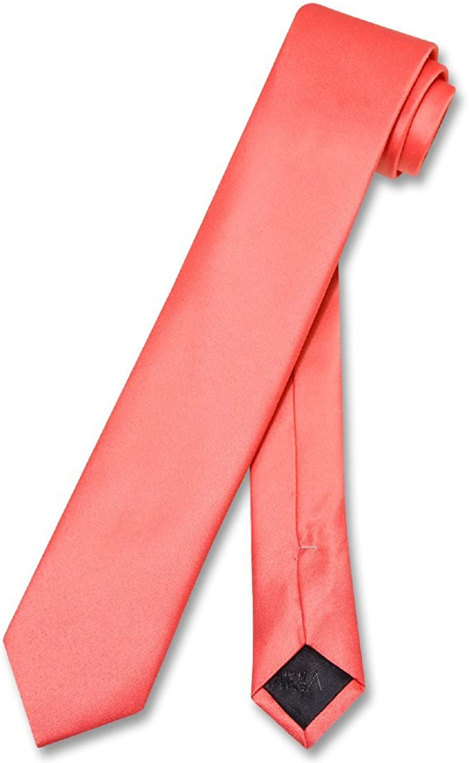 Coral Pink Paisley Classic Men/'s Tie Regular Tie Normal Tie Wedding Tie