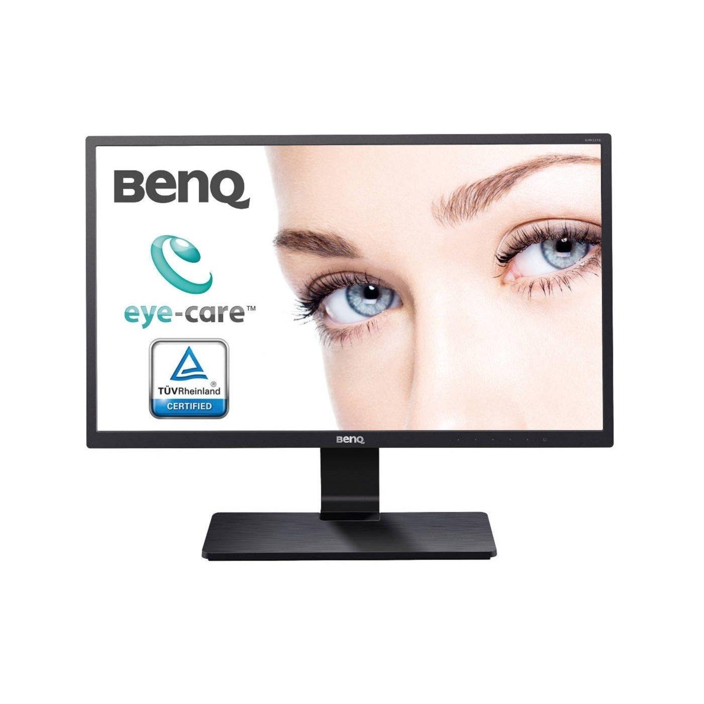 BenQ GW2270H Monitor 21.5 Pollici, FHD, 2 Porte HDMI, Nero