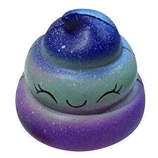 Divertente Squishies Star Poo Lento Alzarsi Toy Desk Decors Time Killer Spremere i Bambini Toy Charm Regalo per Lo Stress Redstrong