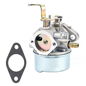 QAZAKY Carburetor for Tecumseh 640260 640260A 640260B 640269 632689 HM80 HM85 HM90 HM100 LH318XA LH358XA LH358EA 8Hp-10Hp Coleman Craftsman Generator Lawnmower Snowblower Tiller Chipper Shredder