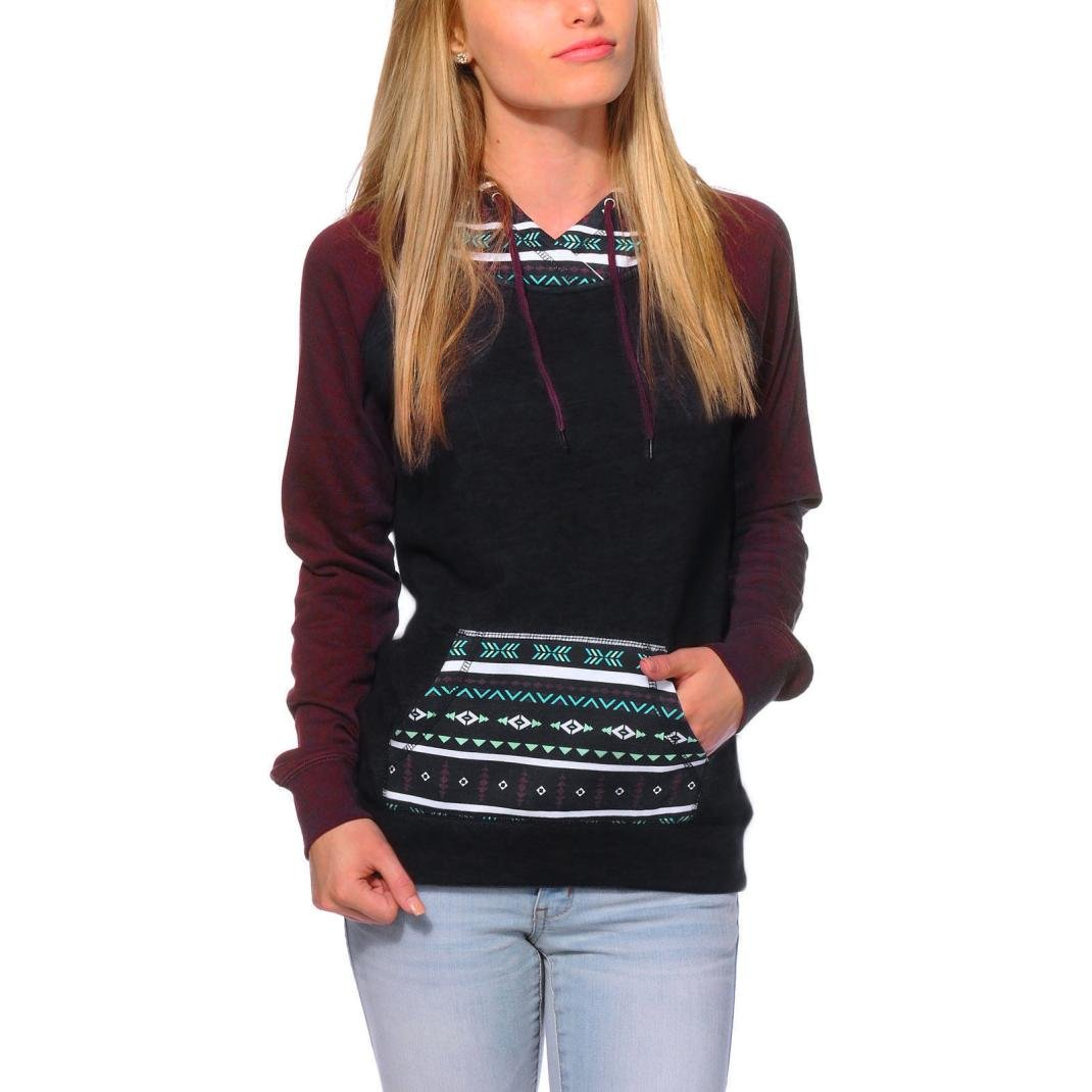 Women's Sweater,Neartime Hoodie Sweatshirt Woman Jumper Hooded Pullover with Pockets (XL)