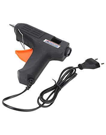 Cheston Trigger Feed Hot Melt Glue Gun with 5 Glue Sticks