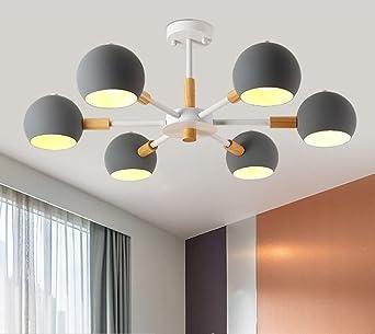 Modern Salón Plafón Creativo Fácil Lámpara De Techo Iluminación De ...