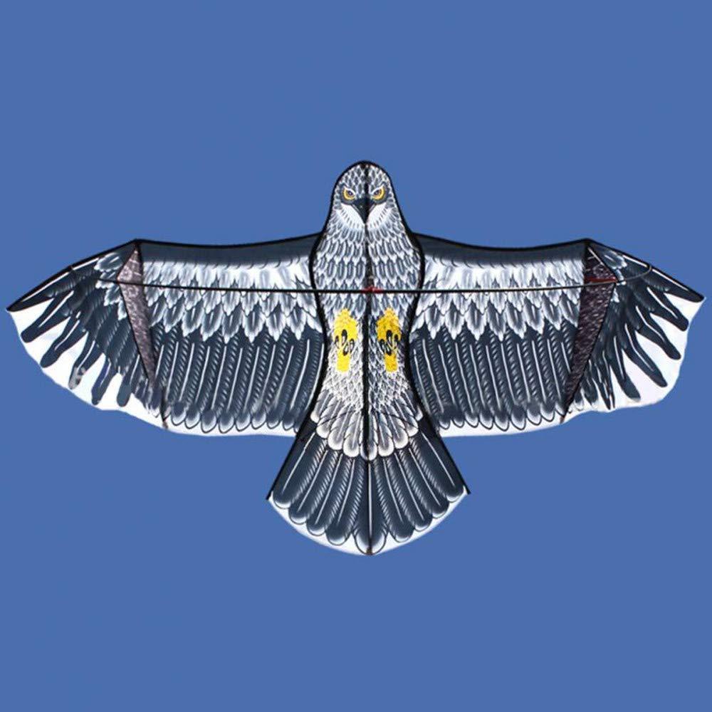 GUNDAN 1,8 M / 1,5 M Aile Cerf-Volant avec 50 M Poignée Ligne Haute Qualité Amusement en Plein Air Sport Jeu Jouets pour Enfants Volent Haute Cerf-Volant