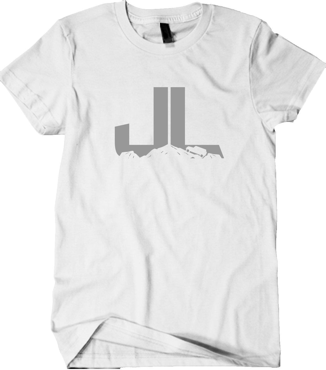 JL JEEP Shirt - Jeep Climber Shirt - Unisex - Super Soft - Gray print
