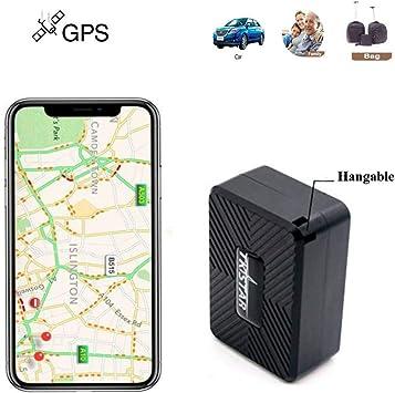 Mini GPS Tracker, TK913 SMS/App Tiempo Real Localizador para Totalizador Infantil Lost Find Aplicaciones Gratuitas para iOS y Android: Amazon.es: Electrónica