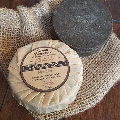 Solid Shampoo Bar - Handmade - Gentle Cleansing - Natural Ingredients - 2 Pack - Thick, Bubbly Lather - Balances Oil Production - No Chemicals or Silicones to Weigh Hair Down - Added Body and Bounce