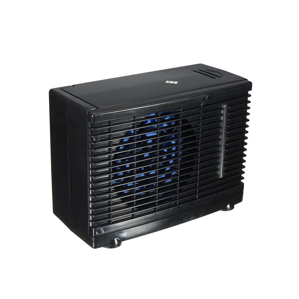 SHEWT Condizionatore dAria Universale per Auto Condizionatore dAria evaporativo DC12V 35W Nero Mini Condizioni di Raffreddamento Portatile