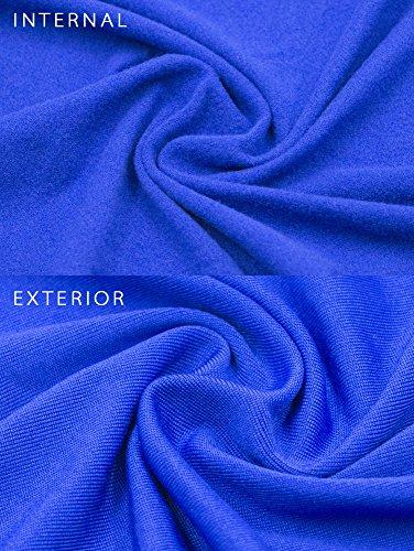 Off Bodycon Royal Club Blue TOB Dress Women's Sexy Shoulder Halter awqA7R