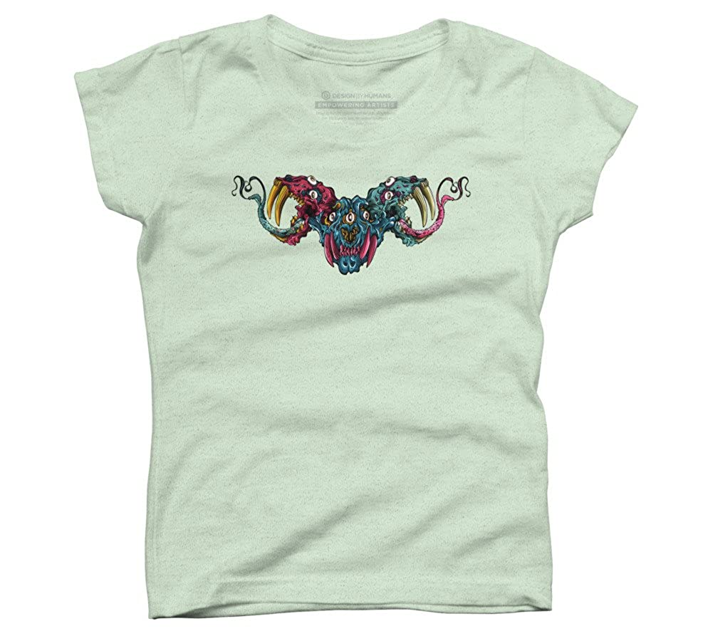 CERBERUS Girls Youth Graphic T Shirt Design By Humans
