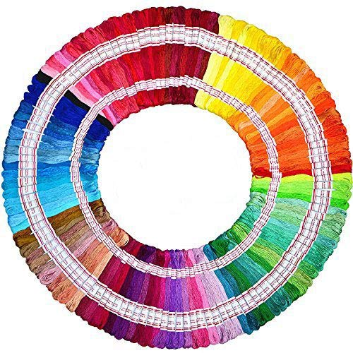 Embroidery Floss Total 1920m 240 Strings 100% long-staple Co