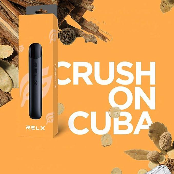 ETbotu - Cigarrillo electrónico RELX Disposable Fruit Flavor Atomization Cigarrillo electrónico sin nicotina: Amazon.es: Electrónica