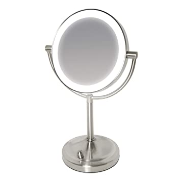 e2177a7c3e6 HoMedics Beauty Spa Double Sided Mirror with Dimmable LED – Perfect  Addition to Dressing Table   Bathroom