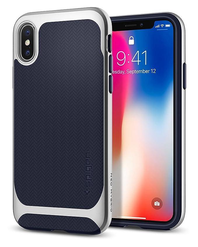 56 opinioni per Spigen Cover iPhone X, [Neo Hybrid] Custodia iPhone X con Protezione Flessibile