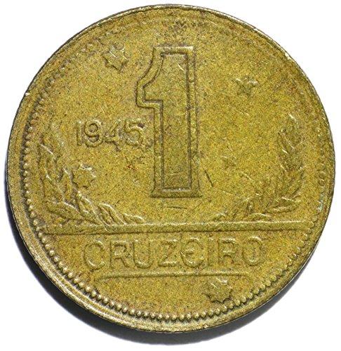 1945 BR Brazil 1 Cruzeiro Cruzeiro Good