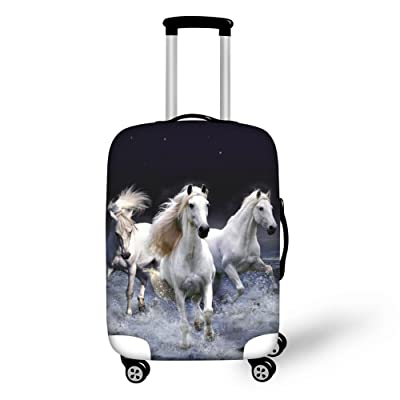 best Durable 3D Animal Luggage Covers for Travel CHAQLIN Elastic 18-30 Inch Suitcase