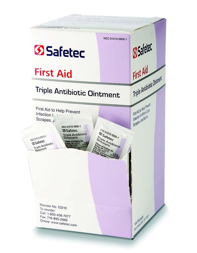 Triple Antibiotic-144-0.9 Gram Packet Box