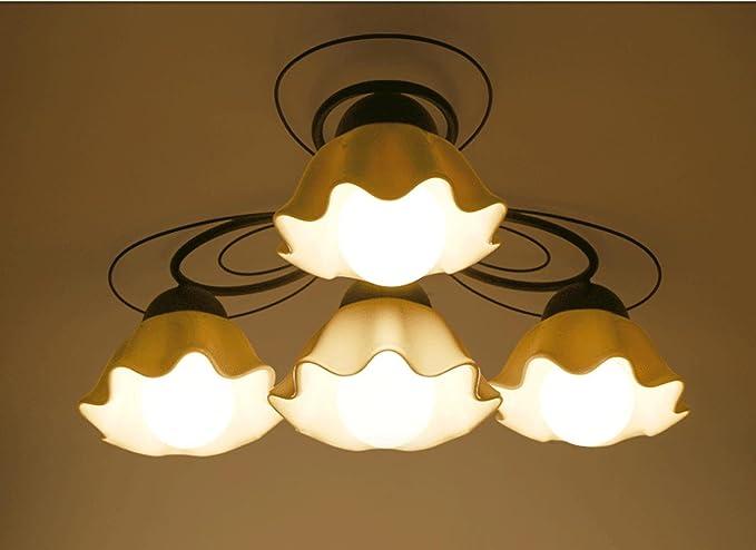 JINER-E27 220V dormitorio living comedor cerámica techo ...