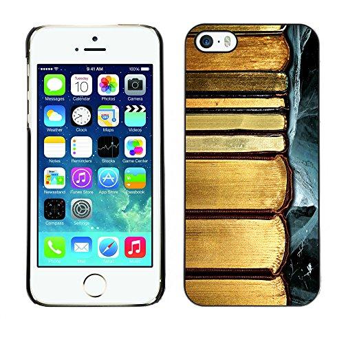 Premio Sottile Slim Cassa Custodia Case Cover Shell // F00028395 L'or des livres // Apple iPhone 5 5S 5G