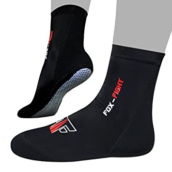 EMRAH Neopren-Kn/öchel-MMA-Grifftraining Kampf Socken Boxen Fu/ßst/ützen ˈKn/öche lSchuhe Guard Pad MMA Socks