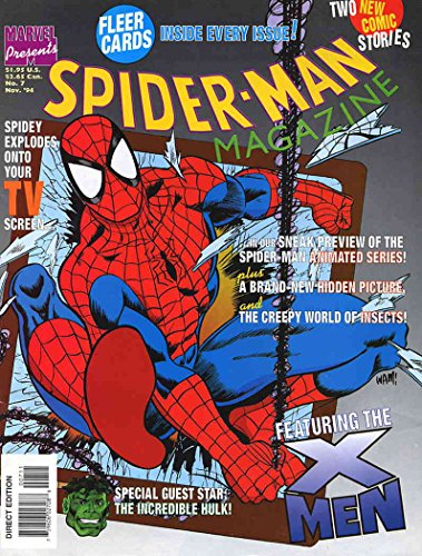 Spider-Man Magazine #7 FN ; Marvel comic book