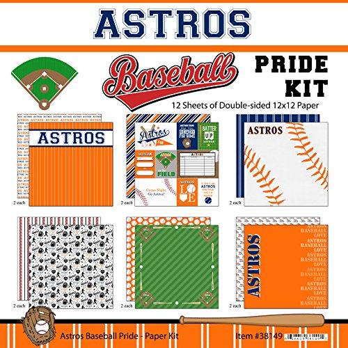 (Scrapbook Customs Astros Pride Baseball Scrapbook Kit)