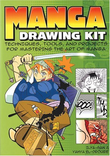 Manga Drawing Kit  Techniques Tools And Projects For Mastering The Art Of Manga