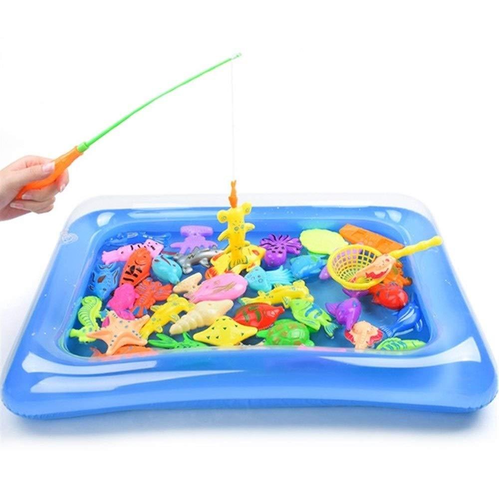 Jurenay Nouveau modèle de Jeu de Jouet Jeu de Jouets de pêche magnétique Set Kids Cadeau pour Le développement de l'intelligence Convient à Tout Le Monde