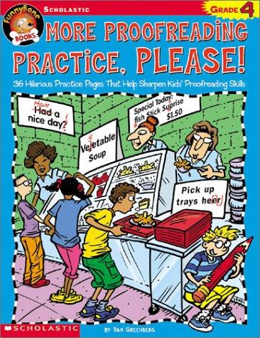 Funnybone Books: More Proofreading Practice, Please! Grade 4 pdf