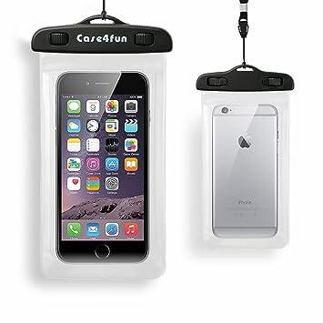 Funda Bolsa Móvil Impermeable Universal menos de 6 Pulgadas Certificado IPX8 Funda Sumergible Móvil para iPhone, Samsung Galaxy, Nexus y Smartphone, ...