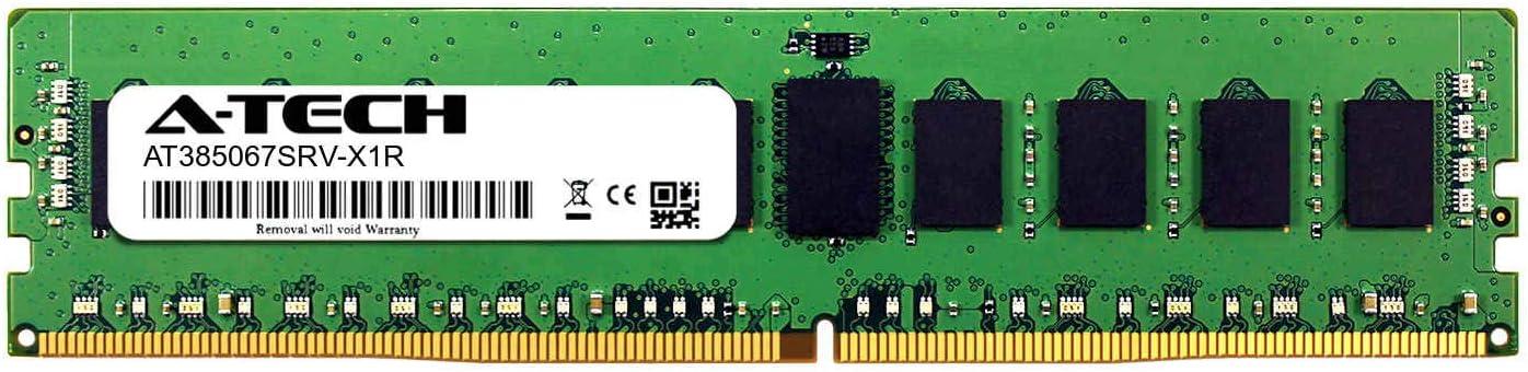 Server Memory Ram DDR4 PC4-21300 2666Mhz ECC Registered RDIMM 1rx8 A-Tech 8GB Module for GIGABYTE G291-280 AT385067SRV-X1R13