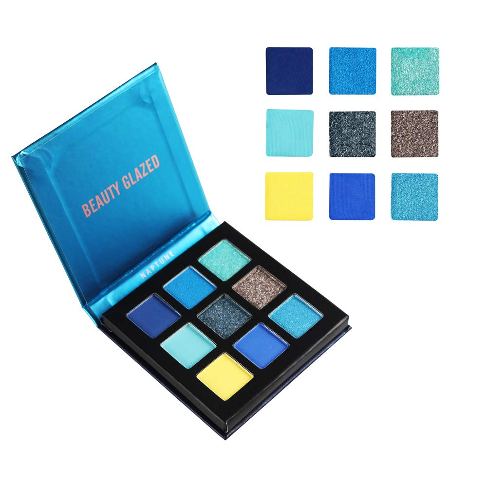 Professional Sale Beauty Glazed 9 Colors Eyeshadow Palette Shimmer Waterproof Metallic Matte Eye Shadow Powder Professional Glitter Shadow Kit Back To Search Resultsbeauty & Health