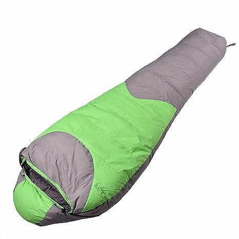 SUHAGN Saco de dormir Bolsa De Dormir Tipo Momia Gruesa Otoño Invierno Sleeping Bag Outdoor Camping