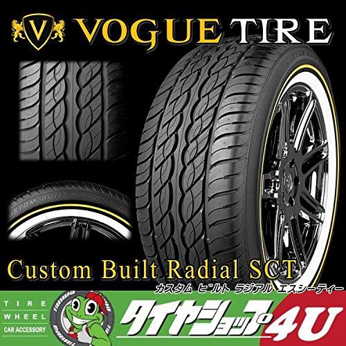 Vogue Custom Built Radial XIII 275/55R20 117H XL WG イエローリボン&ホワイトリボン ラジアルタイヤ B01EMY5VS0