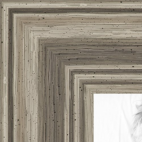ArtToFrames 12×17 inch Silver Grey Ridged Frame Wood Picture Frame, 2WOM0066-83186-939-12×17 Review
