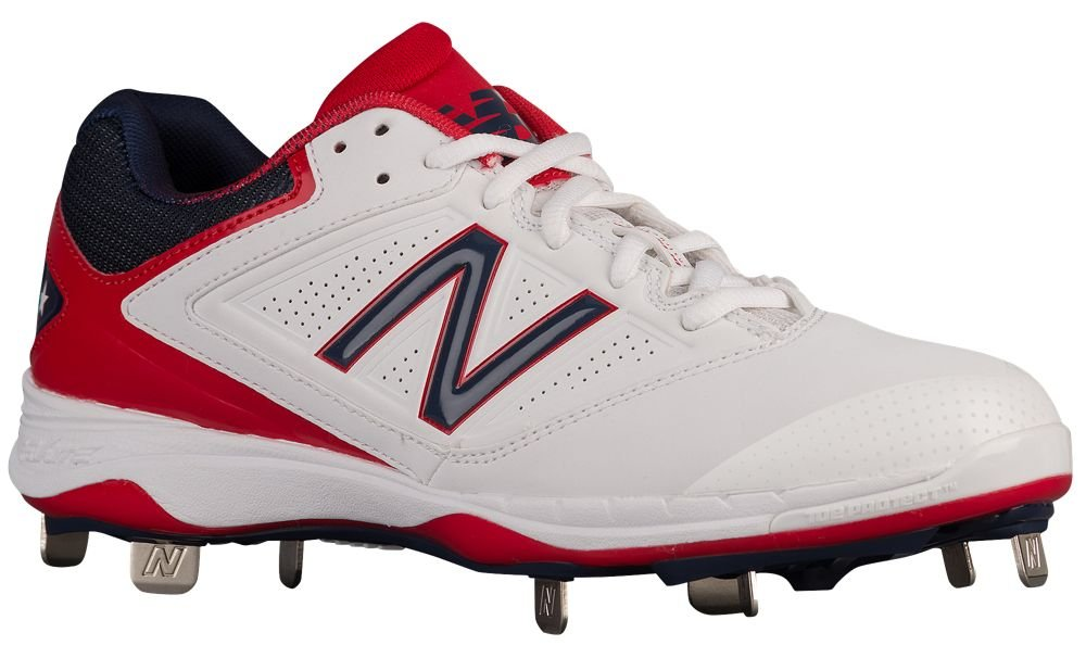 [ニューバランス] New Balance 4040v1 Metal Low レディース ベースボール [並行輸入品] B072LNFTP6 US07.5|Red/White/Blue Red/White/Blue US07.5