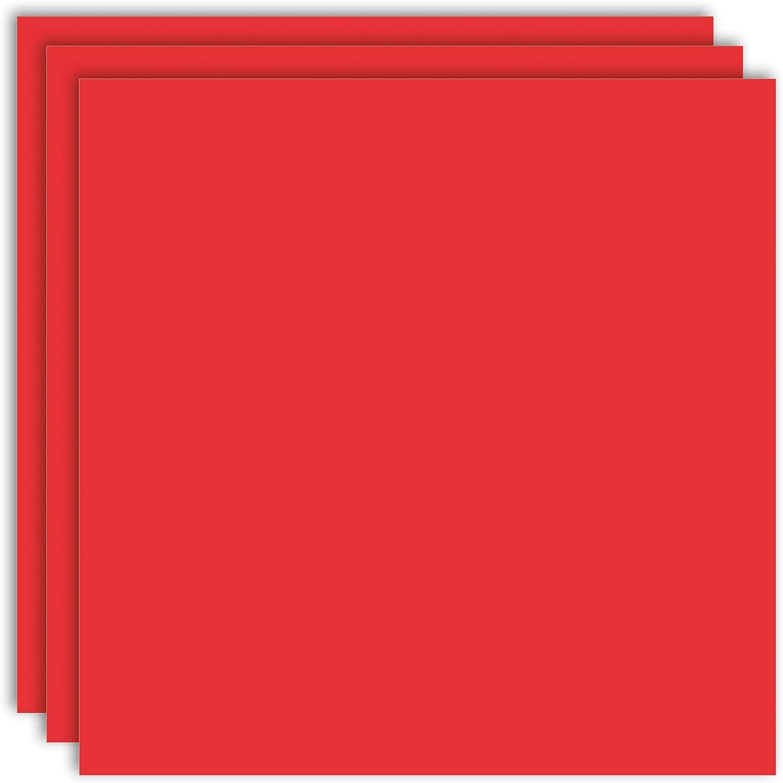 certificaci/ón Blauer Engel Color Rojo Oriental MarpaJansen Cart/ón fotogr/áfico DIN A4, 50 Hojas, 300 g//m2 para Manualidades y dise/ños