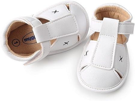 AMEIDD Zapatos para bebé, Bebe Recien Nacido Verano Sandalias Zapato Casual Zapatos Sneaker Antideslizante Suela Suave para 0-6 6-12 12-18 Meses