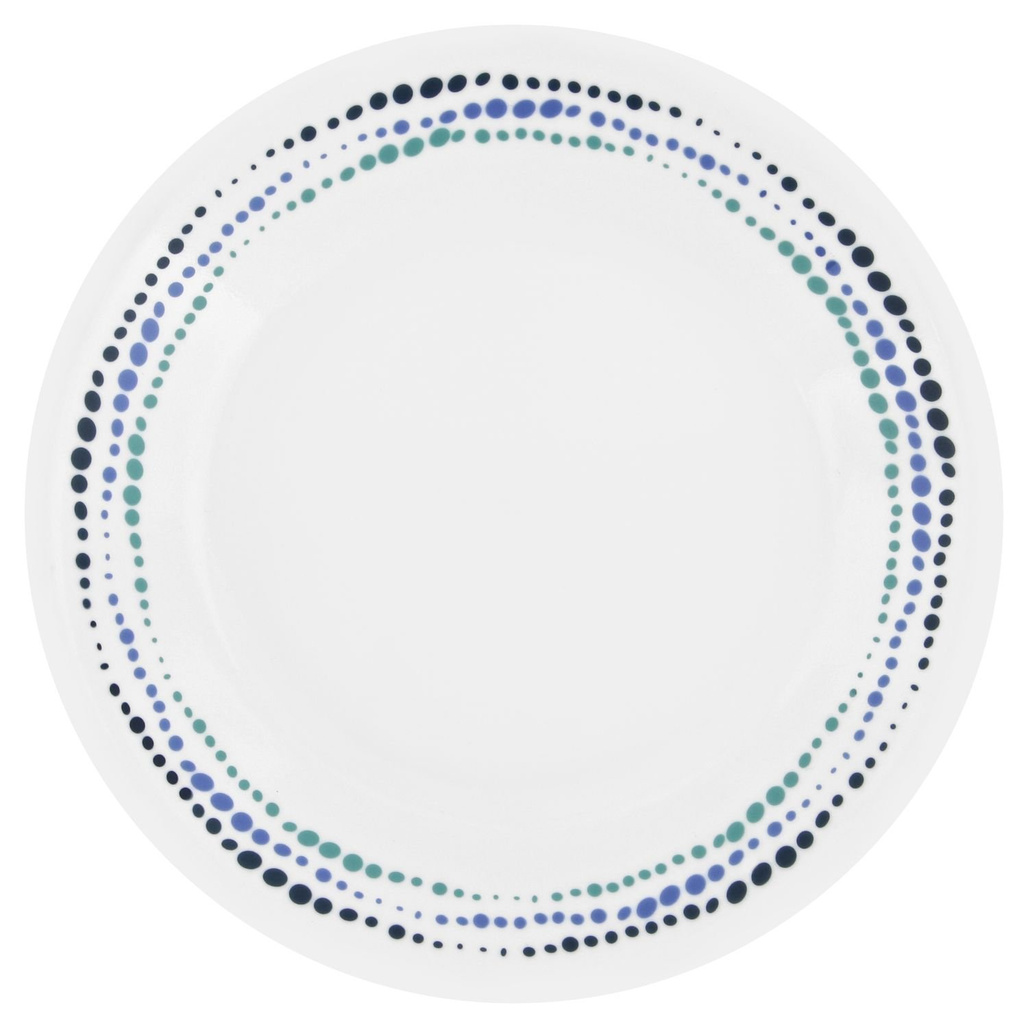 Corelle Livingware Ocean Blues 6.75'' Bread & Butter Plate (Set of 8)