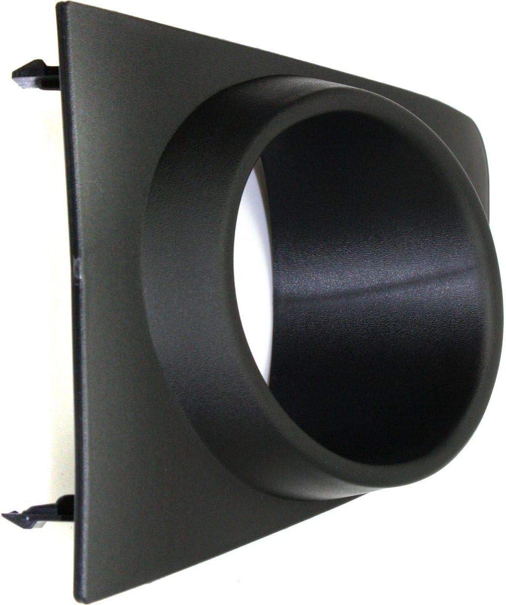I-Match Auto Parts Passenger Side Fog Light Bezel Replacement for 07-12 Nissan SENTRA NI1039110 62256ET80A Black Textured