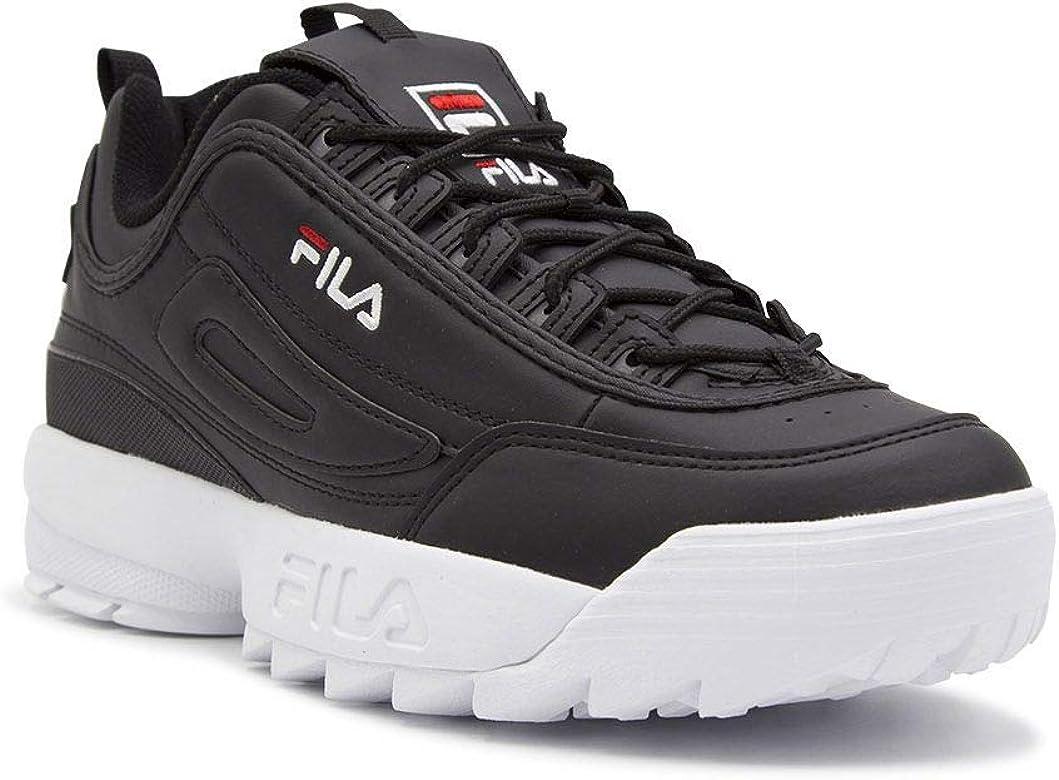 Luxury Fashion | Fila Hombre 101026225Y Negro Zapatillas ...